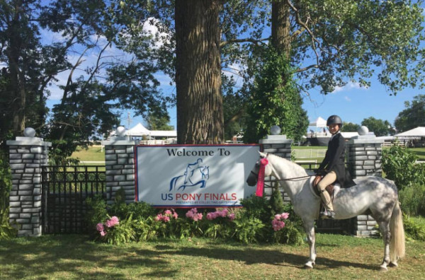 Macgyver and Ella McHardy 16th Pony Finals Undersaddle 2016